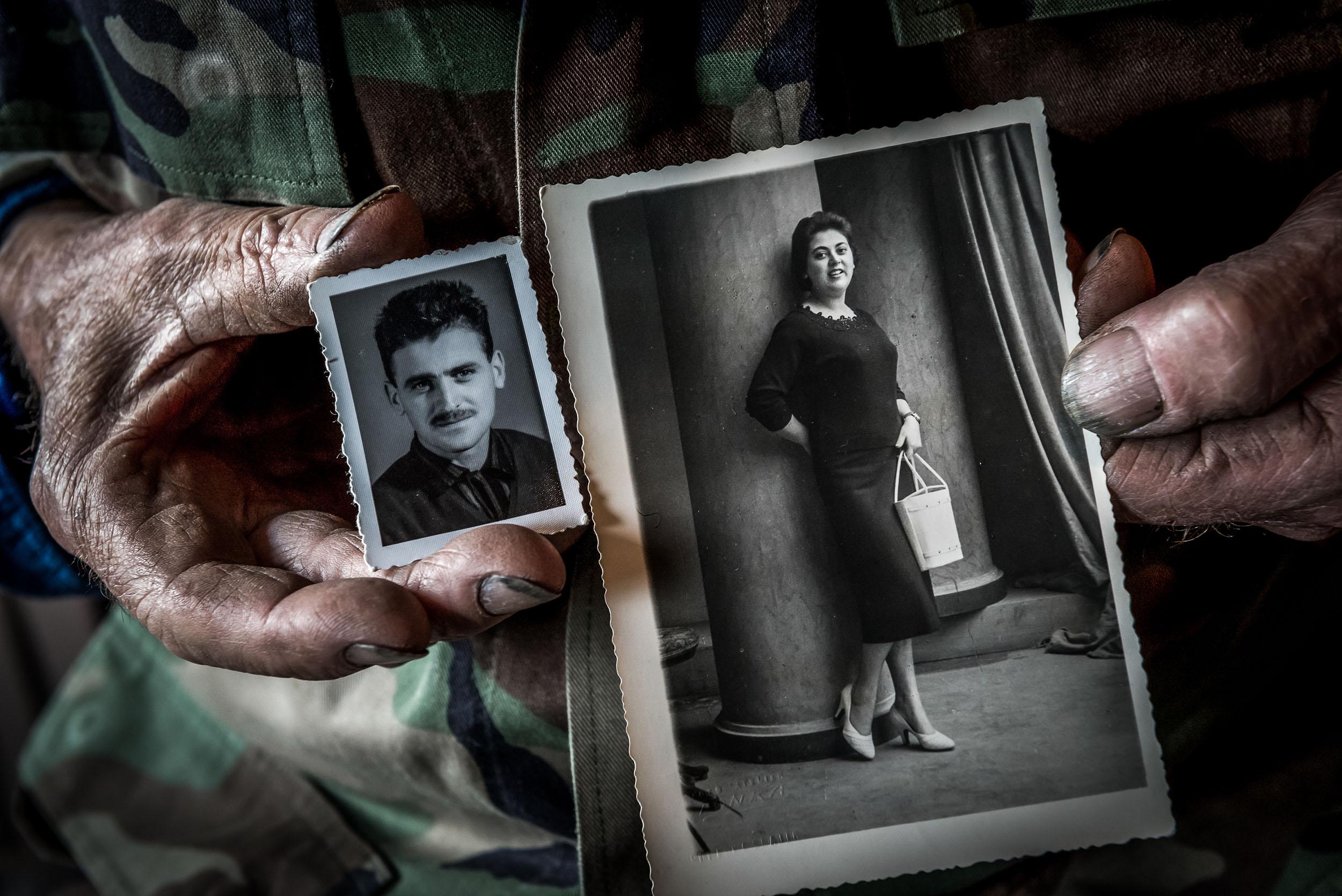 Der junge Mann Franz - und Maria, die er nur »Liebe«nennt: So hat er sie damals in Rogaska Slatina kennengelernt.